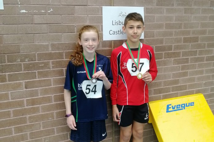 Local Pupils Excel at the NI Sports Hall Athletics Final