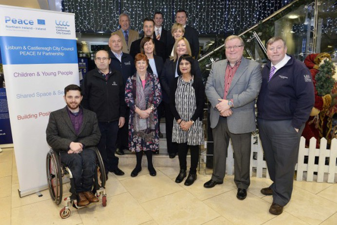 Peace Grants launched by the Lisburn & Castlereagh PEACE IV Partnership