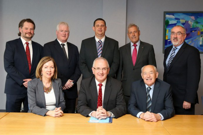 Council Delegation meets Minister Kennedy on Roads Network in Lisburn City