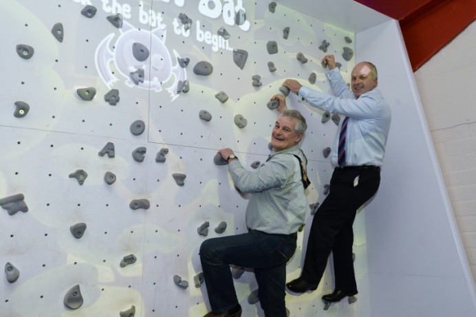 Clip and Climb Launch New Augmented Climbing Wall