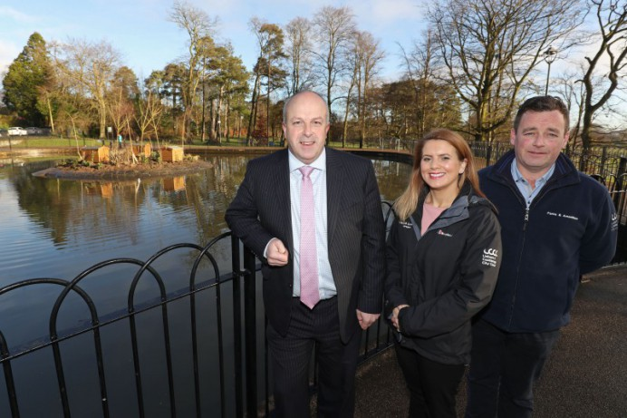 Wallace Park Duck Pond refurbishment