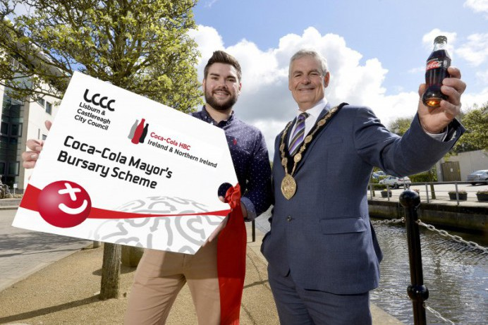 Lisburn & Castlereagh City Council Announce the launch of Coca-Cola HBC Mayor's Bursary Scheme