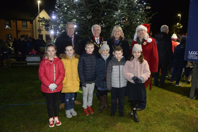 Christmas arrives at Lough Moss Leisure Centre
