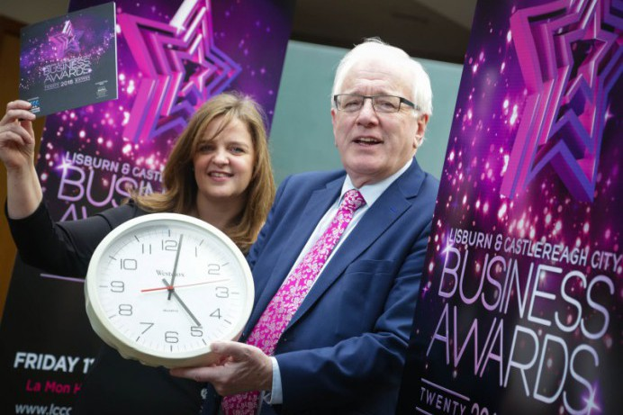 Tick tock! Time is running out to enter the Lisburn & Castlereagh City Business Awards