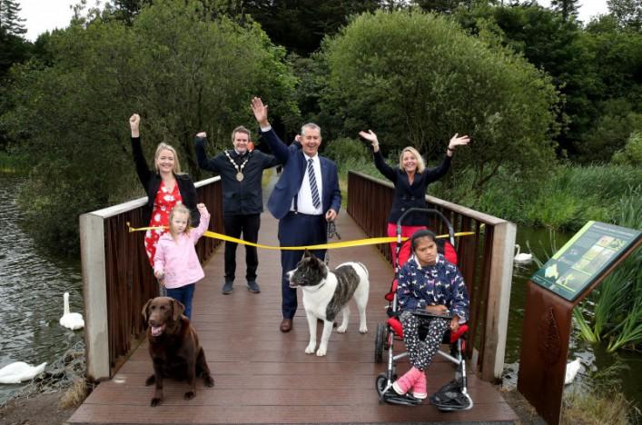 Hillsborough Forest improvements are a royal success!