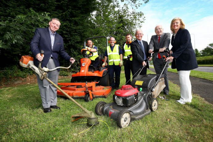 Lisburn & Castlereagh City Council will step in to cut key grass areas