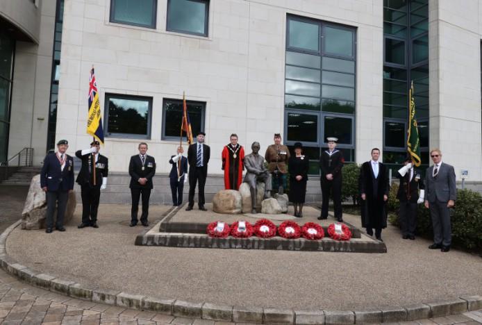 Council commemorates Professor Frank Pantridge and veterans of Malaya and Borneo
