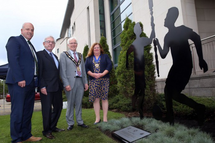 Hand of Friendship With Warrington Honoured by Statue