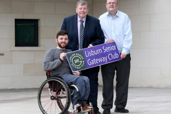 Funding delight for Lisburn Senior Gateway Club
