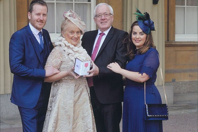 Alderman Allan Ewart Receives MBE