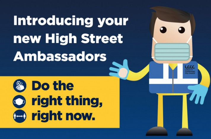 Your new High Street Ambassadors – on hand to help.