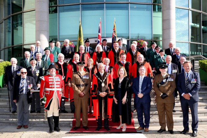 Lisburn & Castlereagh City Council Honour Armed Forces Day