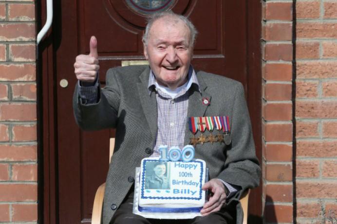 Community celebrate new centenarian