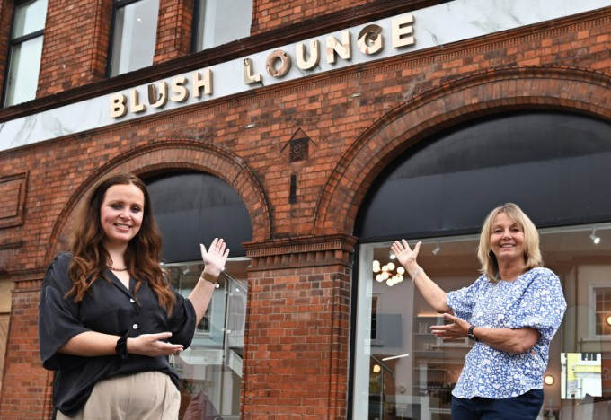 Find your glow at Blush Lounge!