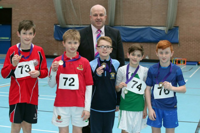 Local Pupils pick up Gold at the NI Sports Hall Athletics Final