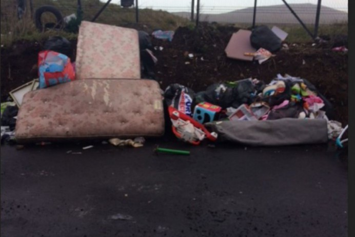 Fly-tipper caught on CCTV Prosecuted