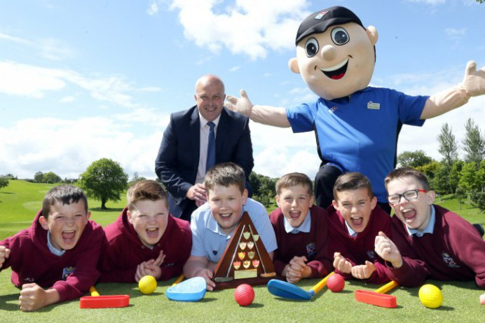 Local Primary School Children Swing into Action