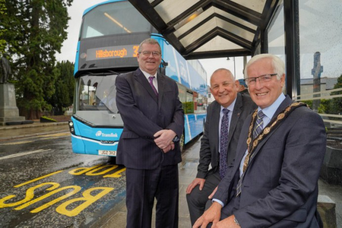 Dromore and Hillsborough passengers set for Urby