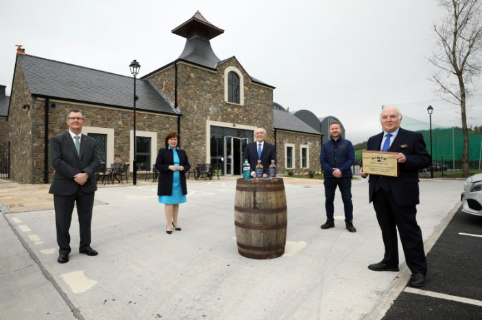 LCCC celebrates new Hinch Distillery and Visitor Centre