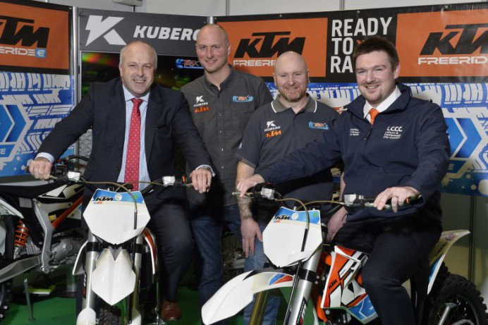 Ireland's first indoor KTM electric motocross park to open in Northern Ireland in 2018