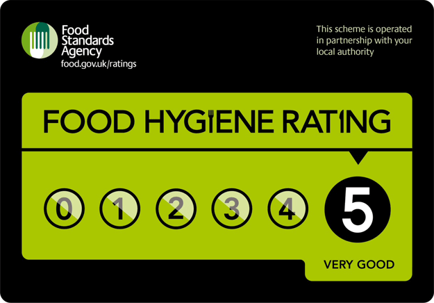 Local Eateries Top the Food Hygiene Rating Chart