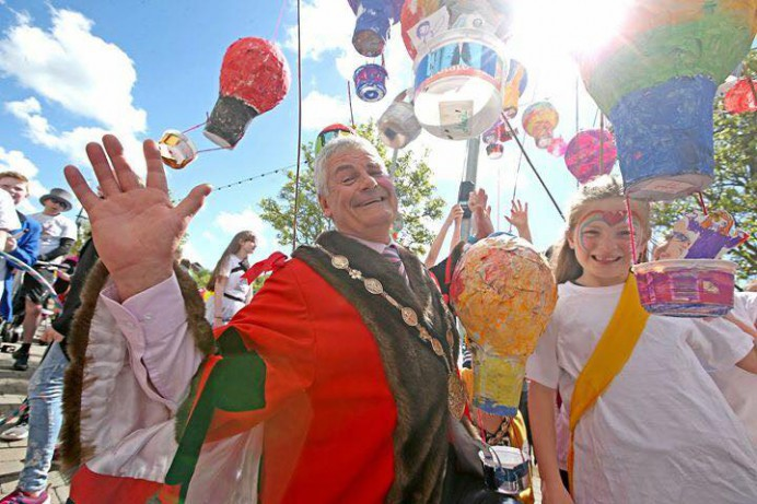 The City of Lisburn & Castlereagh's 200th Birthday Bash Carnival Celebrations for Sir Richard Wallace a Huge Success