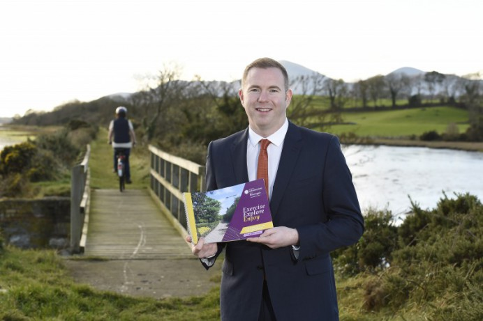 Minister Hazzard grants £8,000 to assist Lisburn and Castlereagh to develop greenway