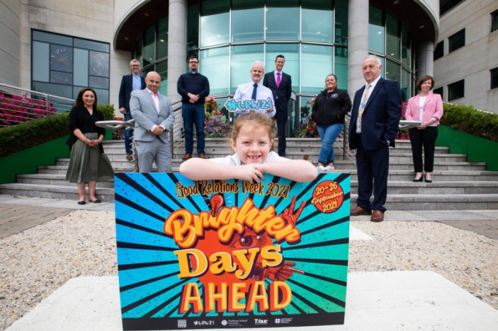 Local Groups in Lisburn and Castlereagh celebrate 'Brighter Days Ahead' for Young People as part of Good Relations Week 2021