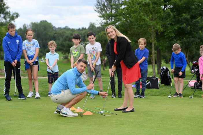 Summer golf camps swing into action
