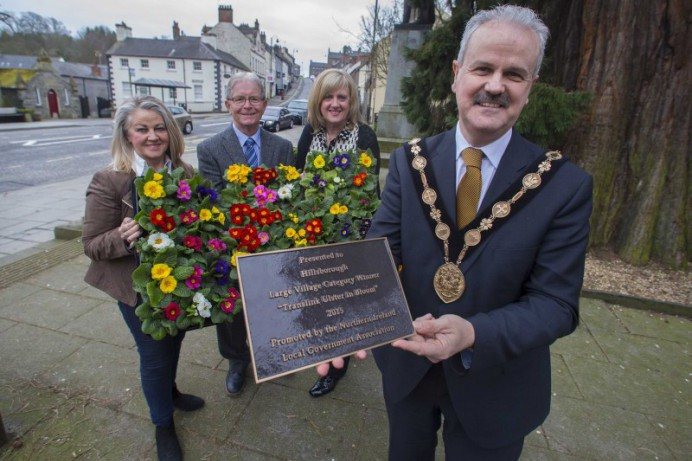 Hillsborough Received its Large Village Award