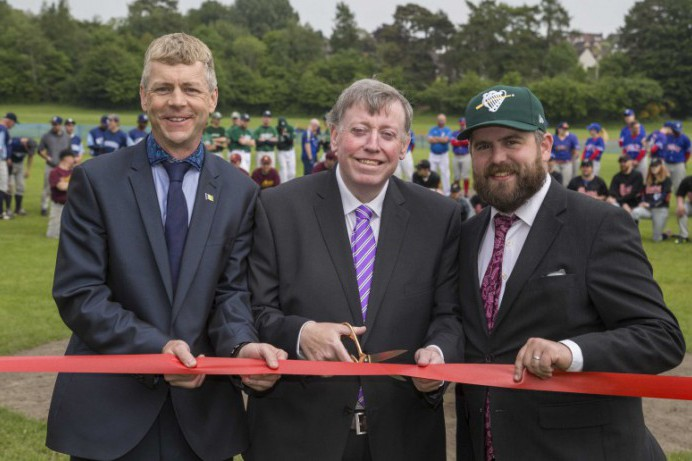 Council Opens First Purpose Built Baseball Diamond