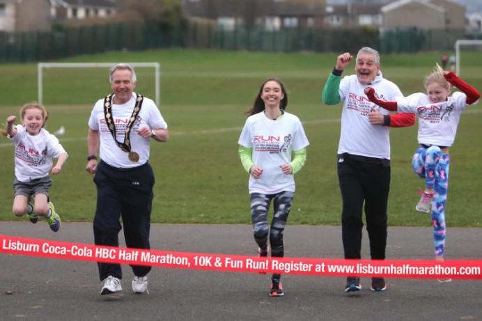 Closing date fast approaching for Lisburn Coca-Cola HBC Half Marathon, 10K and Fun Run