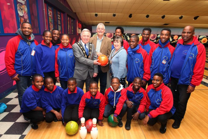 Swaziland Choir visit Dundonald Ice Bowl