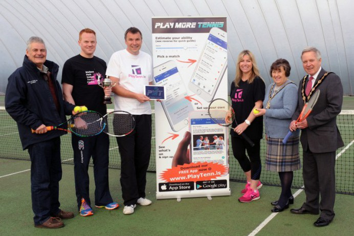 Council supports launch of free local tennis App