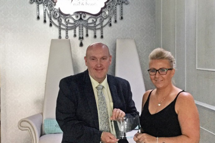 Glam Lisburn crowned Beauty Salon of the Year