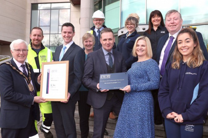Local Council Receives a healthy Silver Investor in People Assessment