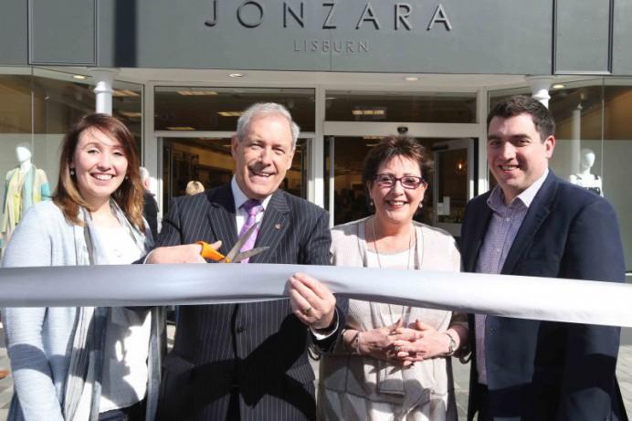 Jonzara Ltd. makes an elegant entrance at 20 Bow Street, Lisburn