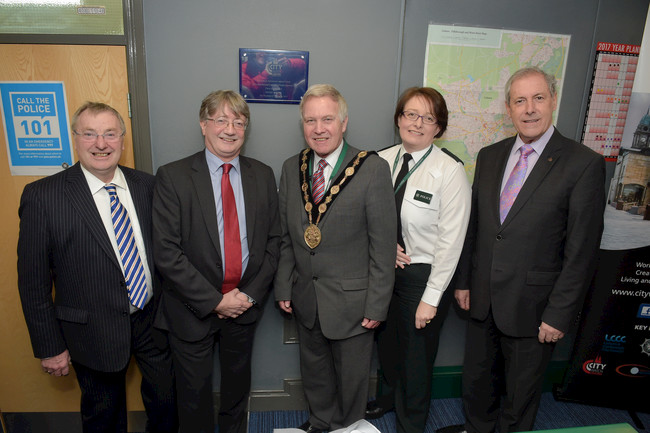 Official Opening of state of the art CCTV control room