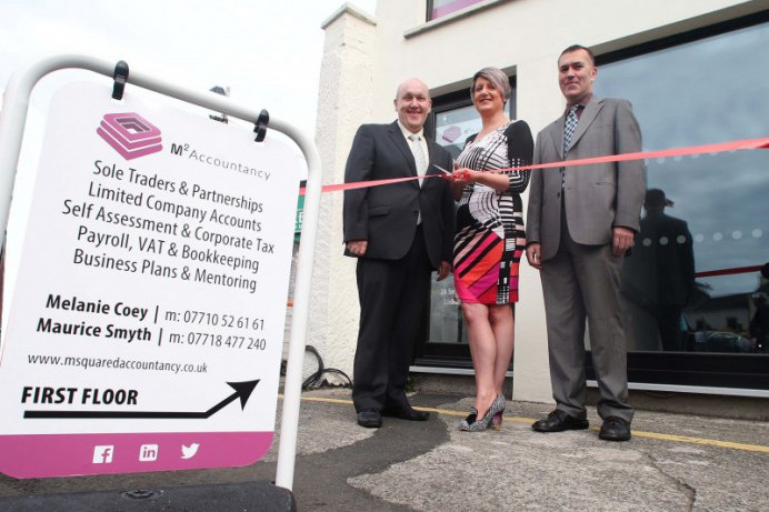 M Squared Accountancy makes grand entrance to Lisburn City Centre