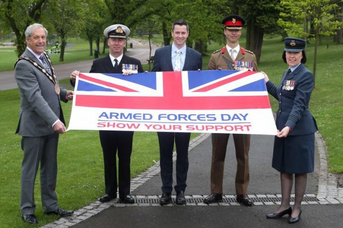 Lisburn Castlereagh Gets Set to Host Regional Armed Forces Day Event