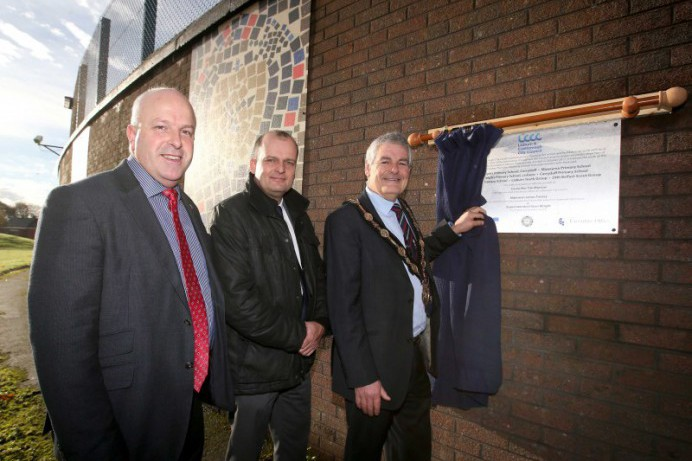 Cross-Community Artwork Unveiled in Dundonald