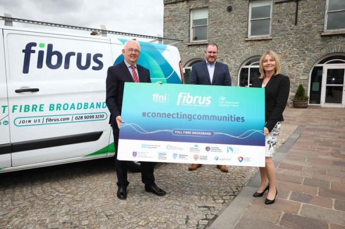 FFNI Consortium awards Fibrus £23million contract to deliver next generation connectivity