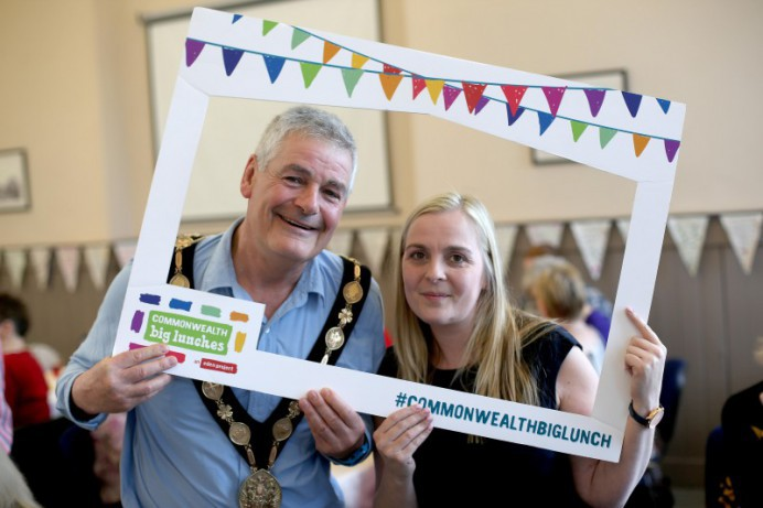Commonwealth Big Lunch Get-Together at Bridge Community Centre