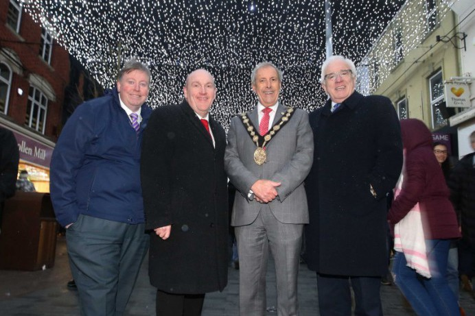 Chairman welcomes start of Light Festival and community spirit in Lisburn