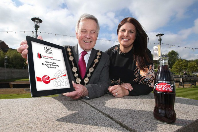 Lisburn & Castlereagh City Council Calling Young Applicants for the Coca-Cola Mayor's Bursary Scheme