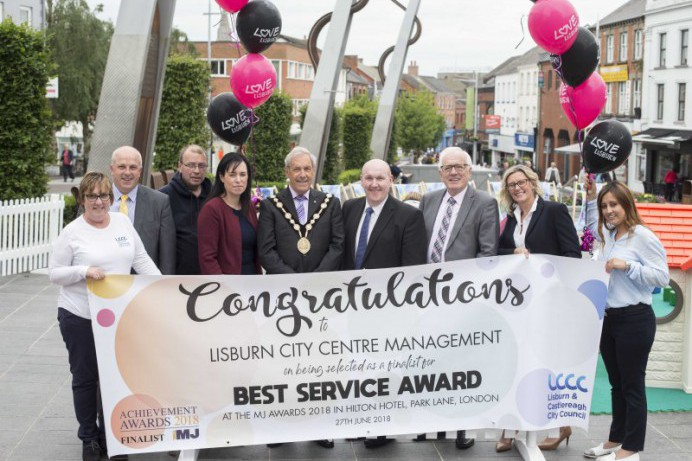 Council Service shortlisted for MJ Award