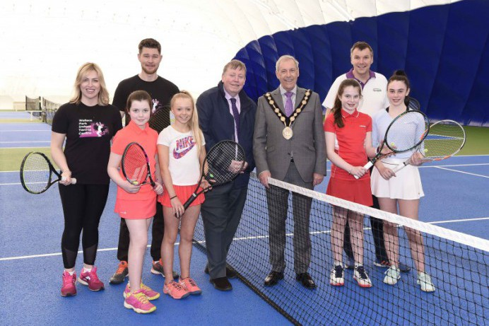 Wallace Park Tennis Dome reopens
