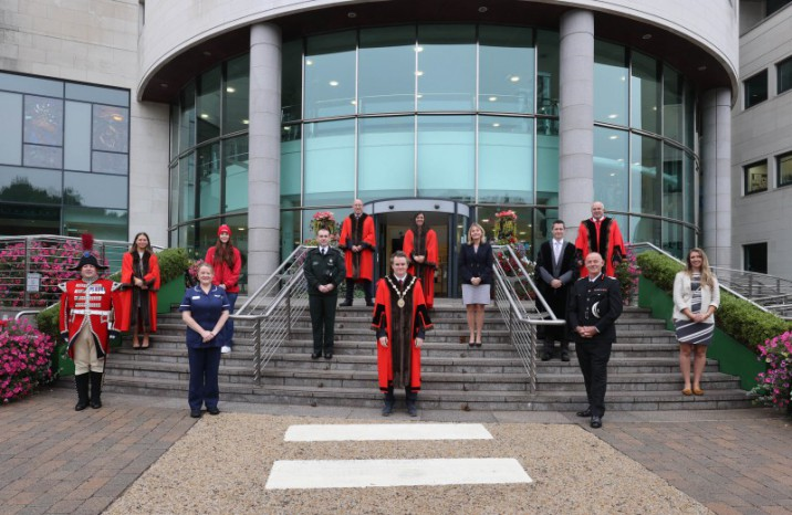 Emergency Services Day marked at Lagan Valley Island