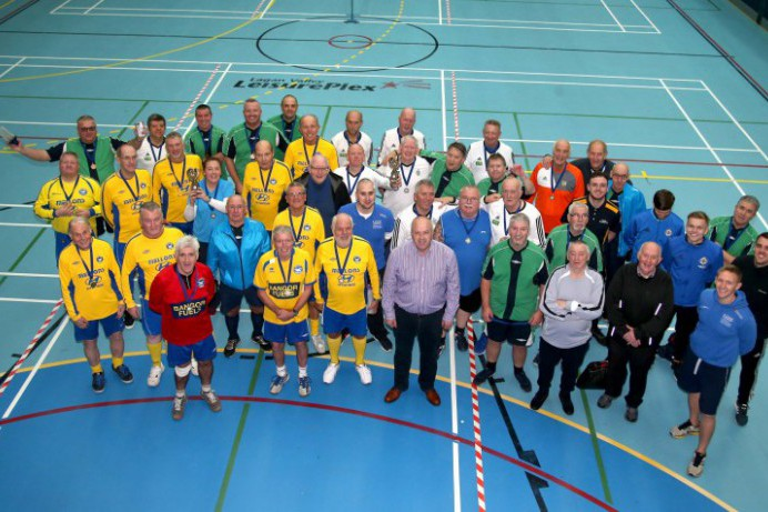 Walking Football Championships at Lagan Valley LeisurePlex