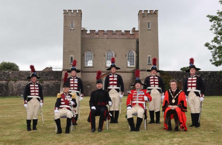 Hillsborough Fort Guard revived at Hillsborough Fort